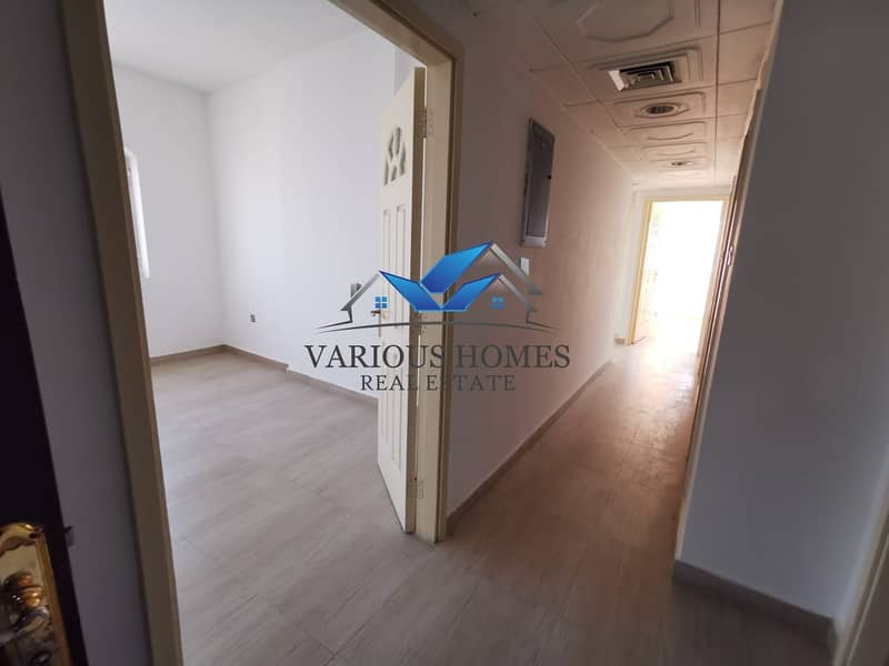 15 Excellent and Spacious 03 Bedroom Apartment with Nice Wardrobes Balcony Central AC at Al Muroor Road
