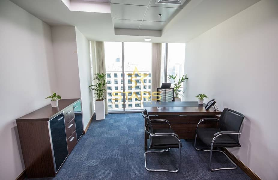 11 Independent Office | No Commission | Ejari | Fully Furnished | Near to Metro