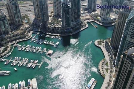 فلیٹ 3 غرف نوم للبيع في دبي مارينا، دبي - Marina  Unfurnished  High Floor  Vacant / Direct
