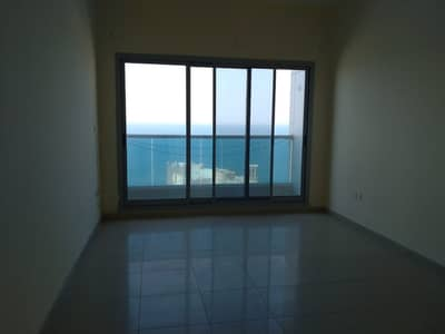 3 Bedroom Flat for Rent in Corniche Ajman, Ajman - Big 3 bhk flat with balcony ,with AC and parking free in al Cornish Ajman