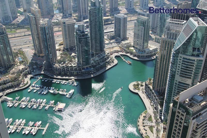 Marina View| Unfurnished| High Floor| Vacant/ Direct