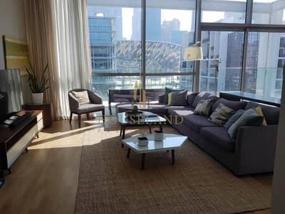 شقة 2 غرفة نوم للايجار في جميرا، دبي - SPACIOUS  2BR FURNISHED | DUPLEX |  FULL BURJ KHALIFA  VIEW