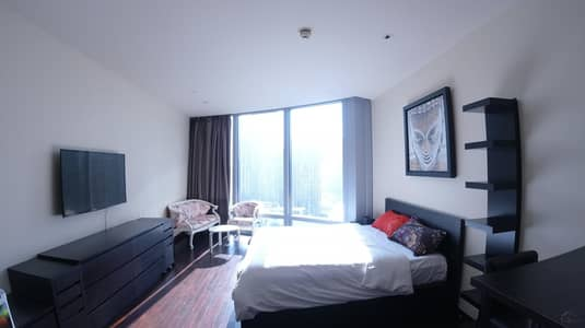 Studio for Rent in Downtown Dubai, Dubai - Furnished with Luxury ! Opera and Lake View I High Floor