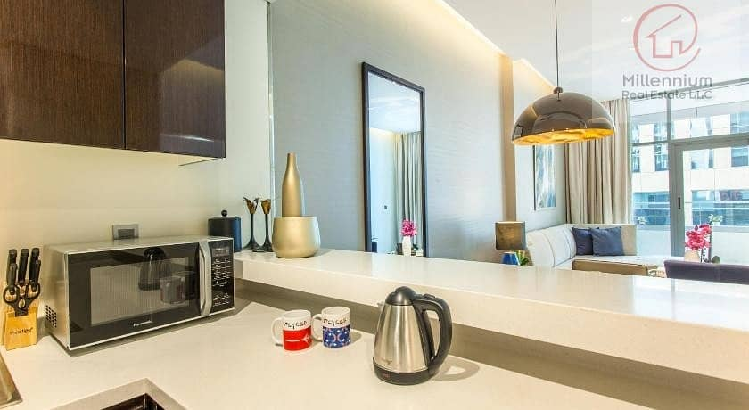 2 one bedroom apartment for rent in MAJESTINE
