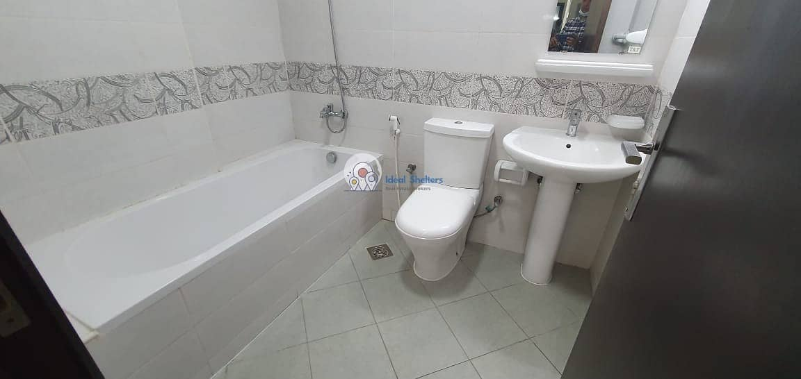 10 HUGE SIZE SPACIOUS 1BHK AL WARQA  WITH PARKING
