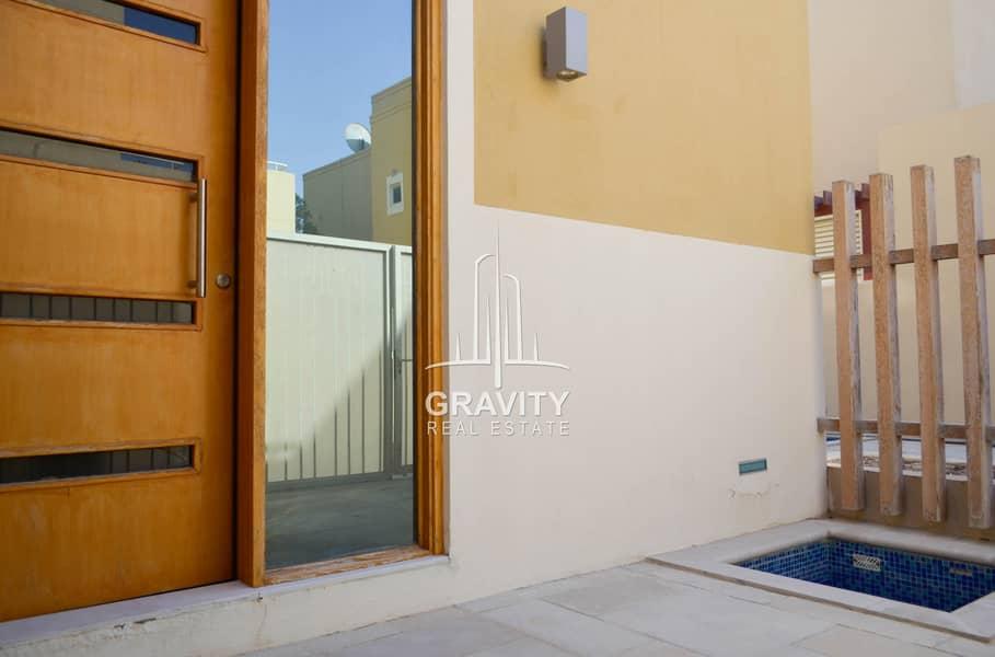 2 Finest 4BR Villa in Al Raha Gardens   Inquire Now
