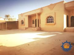 Villa for rent in the emirate of Ajman, with a very spacious room size and a great location