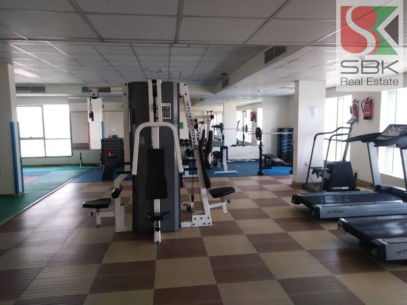 19 1 BHK Apartments Available with Pool and Gym in Al Majaz 2