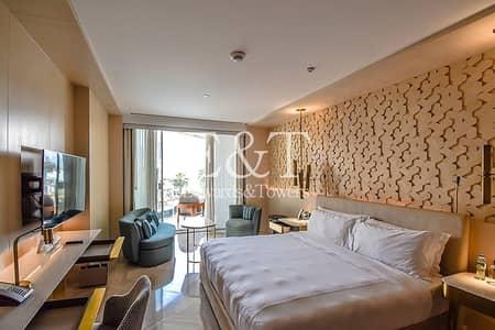 شقة فندقية  للبيع في نخلة جميرا، دبي - Pool View