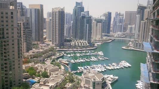 2 Bedroom Flat for Rent in Dubai Marina, Dubai - Full Marina View 2 Bedroom In Marina Heights
