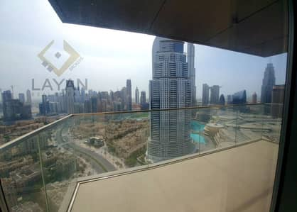 3 Bedroom Apartment for Rent in Downtown Dubai, Dubai - 30+ floor | Full Downtown view | Brand New