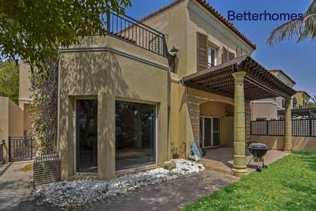 4 Bedroom Villa for Sale in Green Community, Dubai - Corner Plot | On The Main Park | Rented