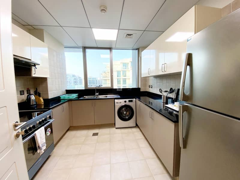 28 Elegant  Fully Furnished 2 BHK Apartmentwith Maids Room