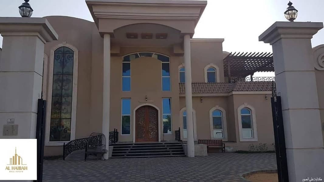 For sale two-storey villa in Sharjah