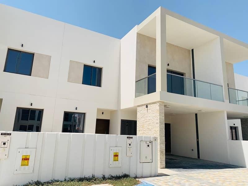 Corner Unit Brand New Villa  Move In Now 3 BR+M