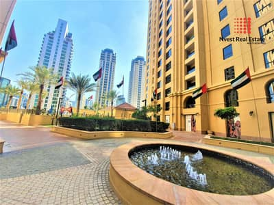 2 Bedroom Apartment for Rent in Jumeirah Beach Residence (JBR), Dubai - 2 Months Free | No Commission | Marina View