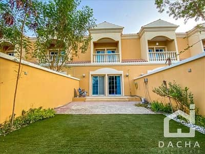 1 Bedroom Townhouse for Rent in Jumeirah Village Triangle (JVT), Dubai - PARK BACKING / Upgr. To 2Br / Landscaped