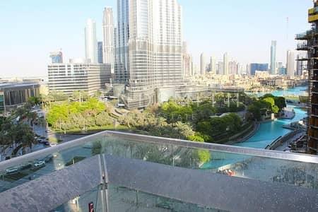 شقة 3 غرف نوم للايجار في وسط مدينة دبي، دبي - Brand New 3BR+Maids Apa with Burj Khalifa view