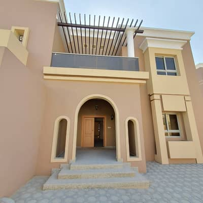 5 Bedroom Villa for Rent in Barashi, Sharjah - Brand new Independent 5BR duplex villa in barashi with one month free rent 135k