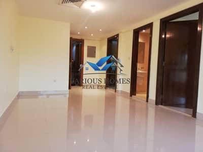 1 Bedroom Flat for Rent in Danet Abu Dhabi, Abu Dhabi - Elegant 01 BHK + Wardrobes + Central AC + Tawtheeq in Building at Danet Abu Dhabi