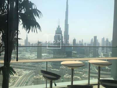 فلیٹ 2 غرفة نوم للايجار في مركز دبي المالي العالمي، دبي - Amazing Burj Khalifa View | 2BR Apt. | Fully Furnished