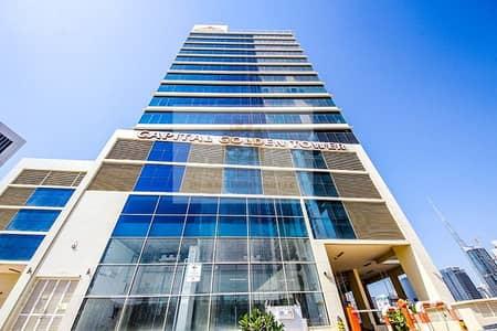 مکتب  للايجار في الخليج التجاري، دبي - BUSINESS BAY | CAPITAL GOLDEN TOWER | SEMI FITTED OFFICE FOR RENT