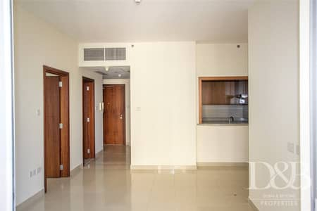 1 Bedroom Flat for Rent in Downtown Dubai, Dubai - Unfurnished | Chiller Free | Pool Views