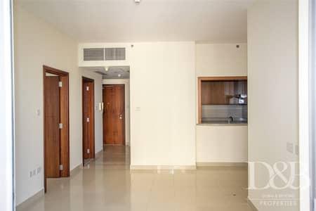 فلیٹ 1 غرفة نوم للايجار في وسط مدينة دبي، دبي - Unfurnished | Chiller Free | Pool Views