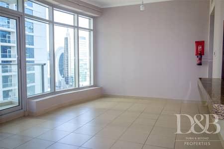 شقة 1 غرفة نوم للايجار في وسط مدينة دبي، دبي - Unfurnished   Balcony   Covered Parking