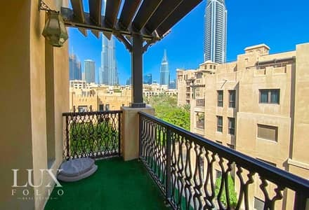 2 Bedroom Apartment for Rent in Old Town, Dubai - OT Specialist | 2bdrm + Study | Burj Khalifa View