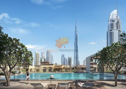 2 Bedroom Apartment for Sale in Downtown Dubai, Dubai - 2BR APARTMENT // BURJ ROYALE // PAY IN EASY INSTALLMENTS
