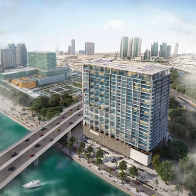 1 Bedroom Flat for Sale in Al Maryah Island, Abu Dhabi - Luxurious Off Plan 1-bedroom unit in Al Maryah Island