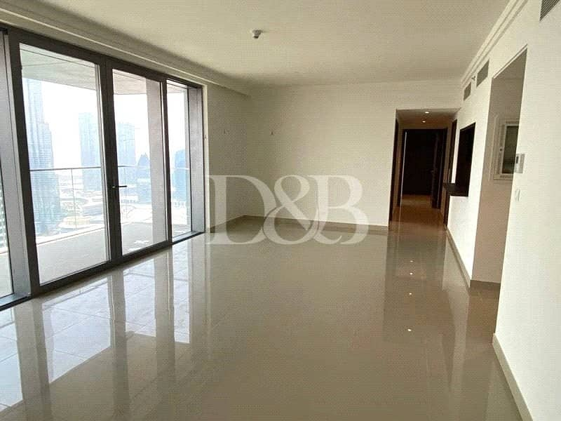 2 Bright 3BR | High Floor | Above 40 Floor