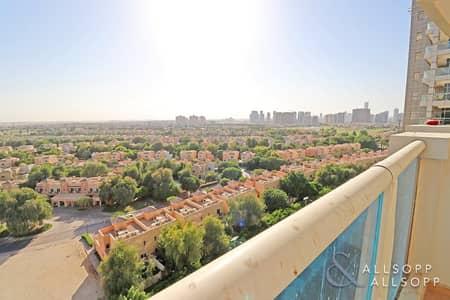 Studio for Sale in Dubai Sports City, Dubai - Full Golf Views | Studio | Owner Occupied