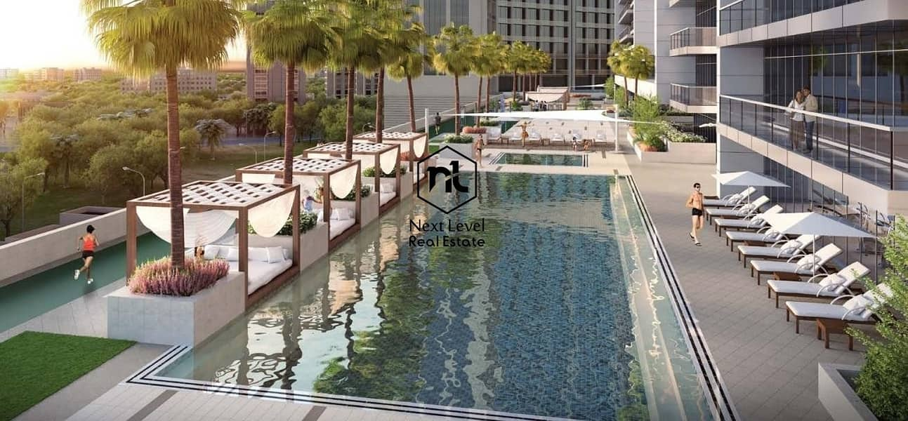 10 Swimming Pool View / luxury Apartment / Easy Payment Plan