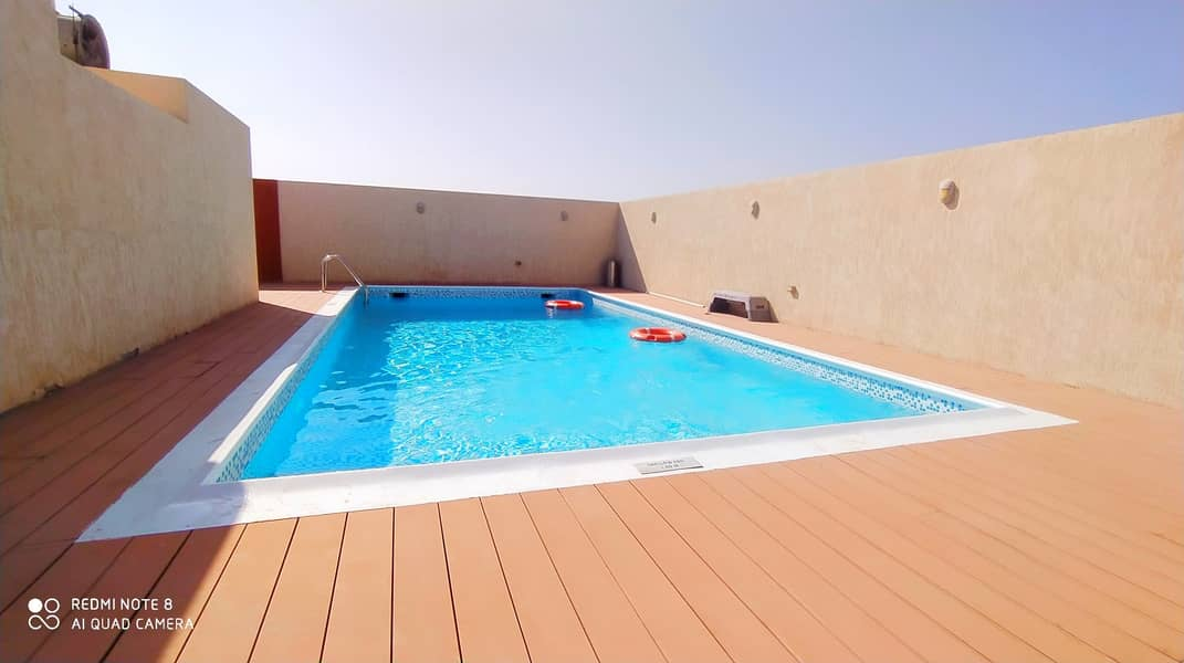 Big flat only 45.999k 2 masterooms hall 3bathroom kitchen balcony wardrobe with gym swimming pool parking