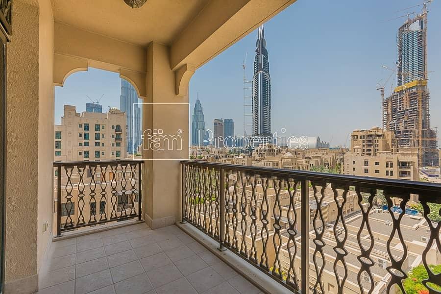 2 Partial Burj Khalifa View