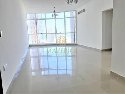 2 Bedroom Flat for Rent in Al Taawun, Sharjah - Sea View | Brand New 2BHK | 1Month+Gym+Pool Free