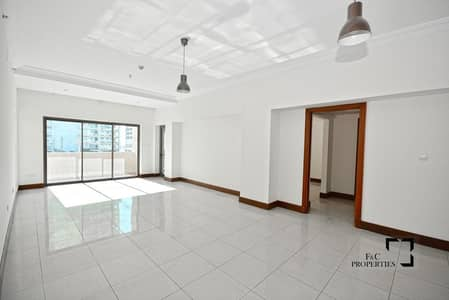 2 Bedroom Flat for Rent in Palm Jumeirah, Dubai - Spacious 2BR | Maids Room | Multiple Cheques