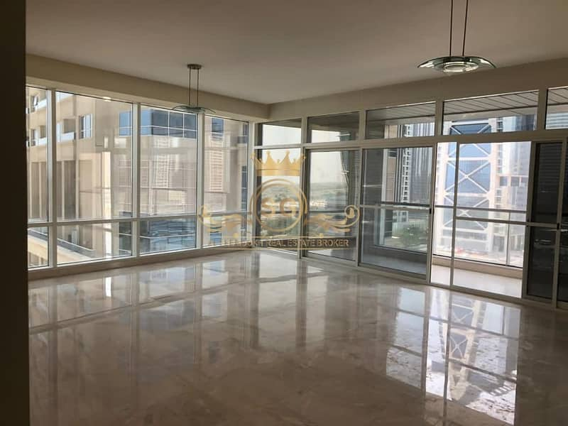Spacious Unit | 2Bedroom+Maids |Unfurnished | Park and City View