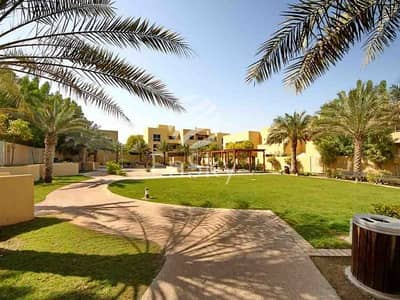 3 Bedroom Townhouse for Sale in Al Raha Gardens, Abu Dhabi - Exquisite Townhouse| Close to the Plaza| 3BHK+MR+Garden