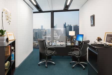 Office for Rent in Liwa Street, Abu Dhabi - Luxurious | Serviced Office | Available