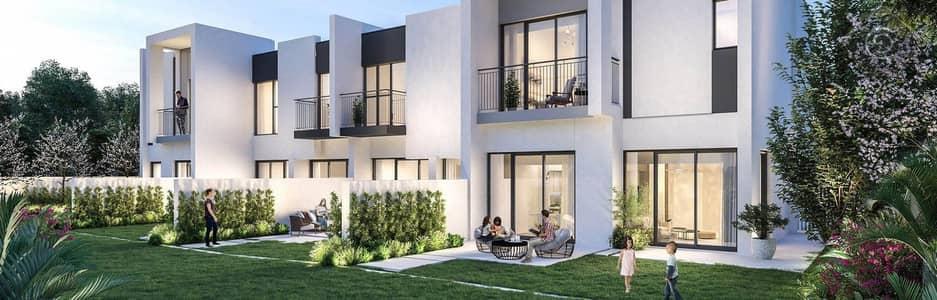 تاون هاوس 4 غرف نوم للبيع في دبي لاند، دبي - 4 Bedrooms townhouse with 5 years installments+50% DLD waiver.