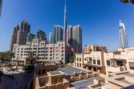 شقة 2 غرفة نوم للبيع في المدينة القديمة، دبي - Corner Unit | 2BR | Burj view | Vacant