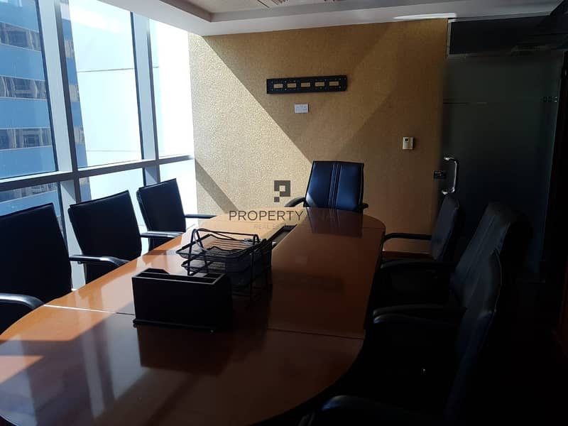 Fitted - Furnished office space |Good Price