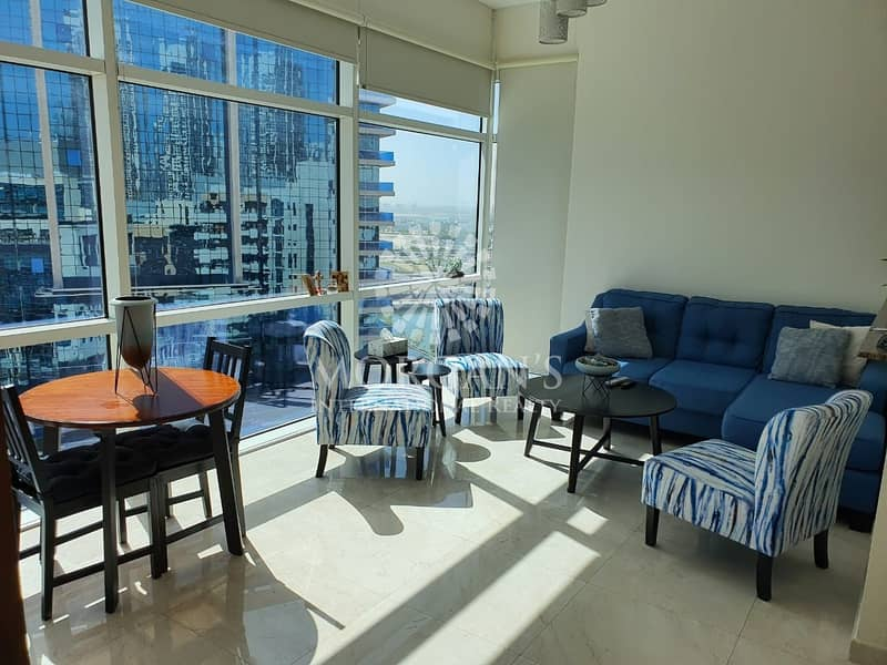 Furnished Studio Apartment in Bay Square