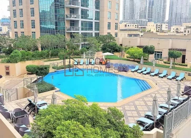 7 Beautiful View | 1 Bedroom | High Floor | Fountain View | Fully Furnished |
