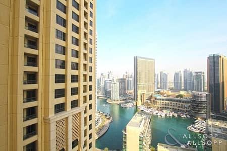 شقة 2 غرفة نوم للبيع في جميرا بيتش ريزيدنس، دبي - 2 Bed |  High Floor | Partial Marina Views