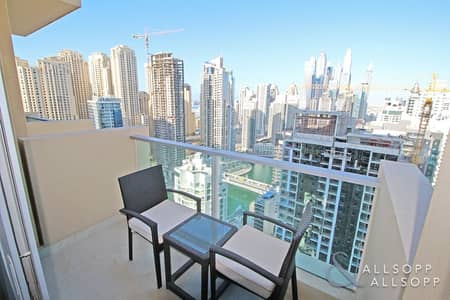 1 Bedroom Flat for Sale in Dubai Marina, Dubai - One Bedroom l Marina View l 767 Sq. Ft.