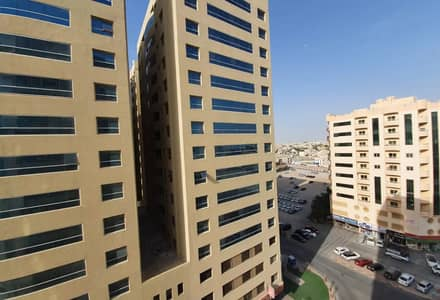 2 Bedroom Flat for Rent in Al Jurf, Ajman - Two-room apartment and a hall for rent in Ajman Al Jurf area In the Garden City Towers